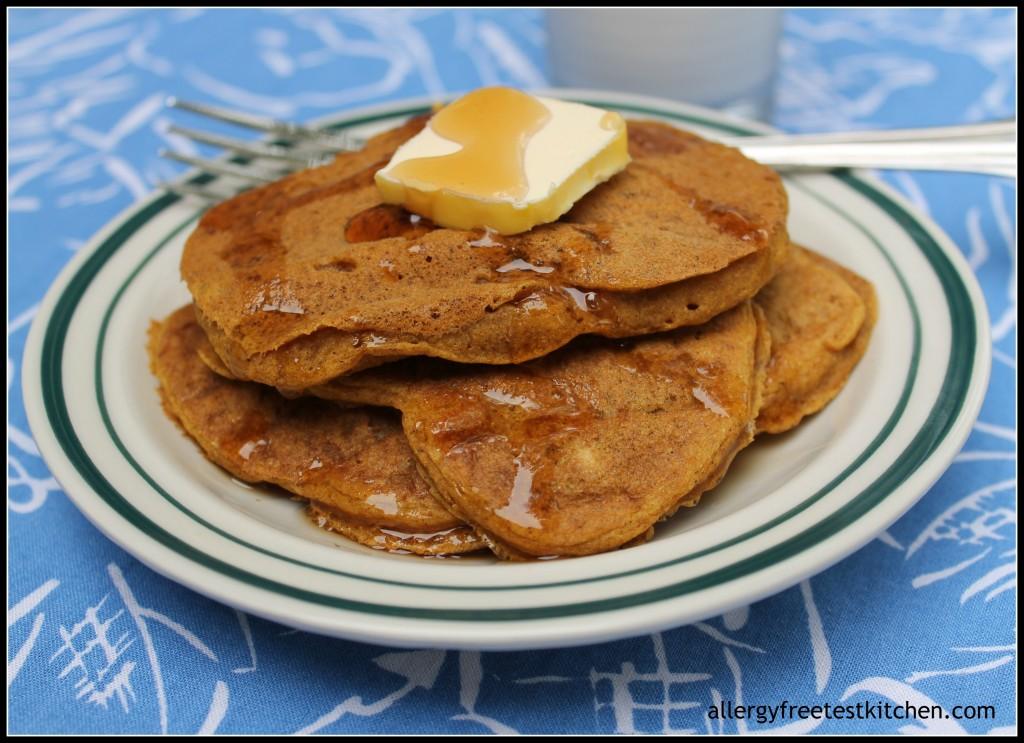 Allergy Friendly Pumpkin Pancakes | Allergy Free Test Kitchen