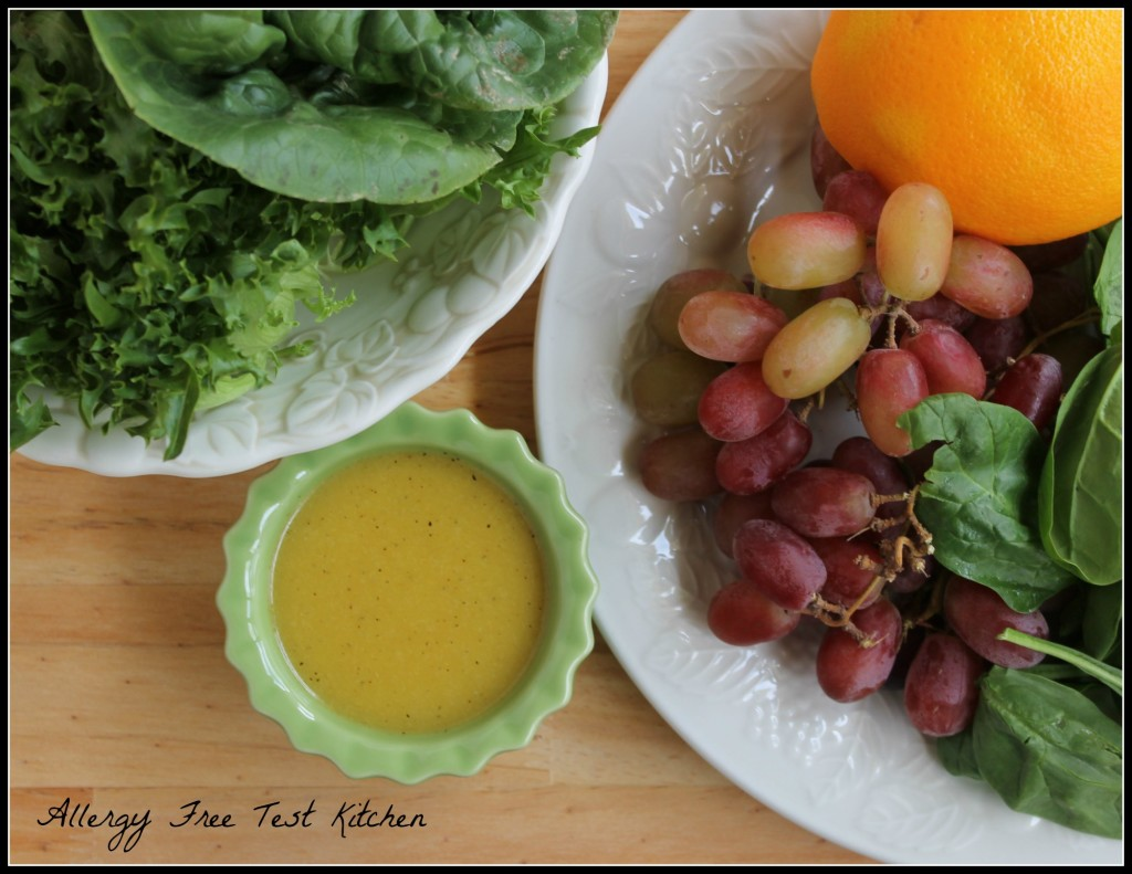 Blog-Greens and Fruit Salad