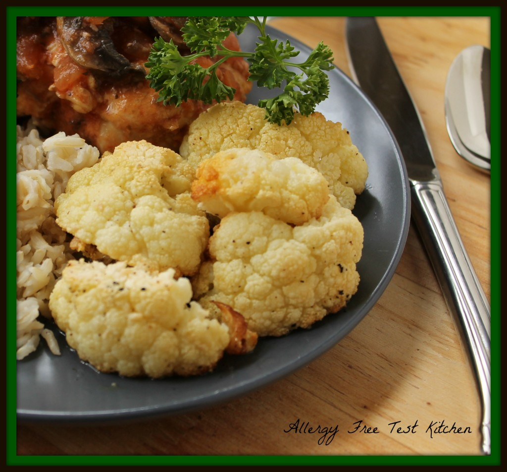 Blog-Roasted Cauliflower