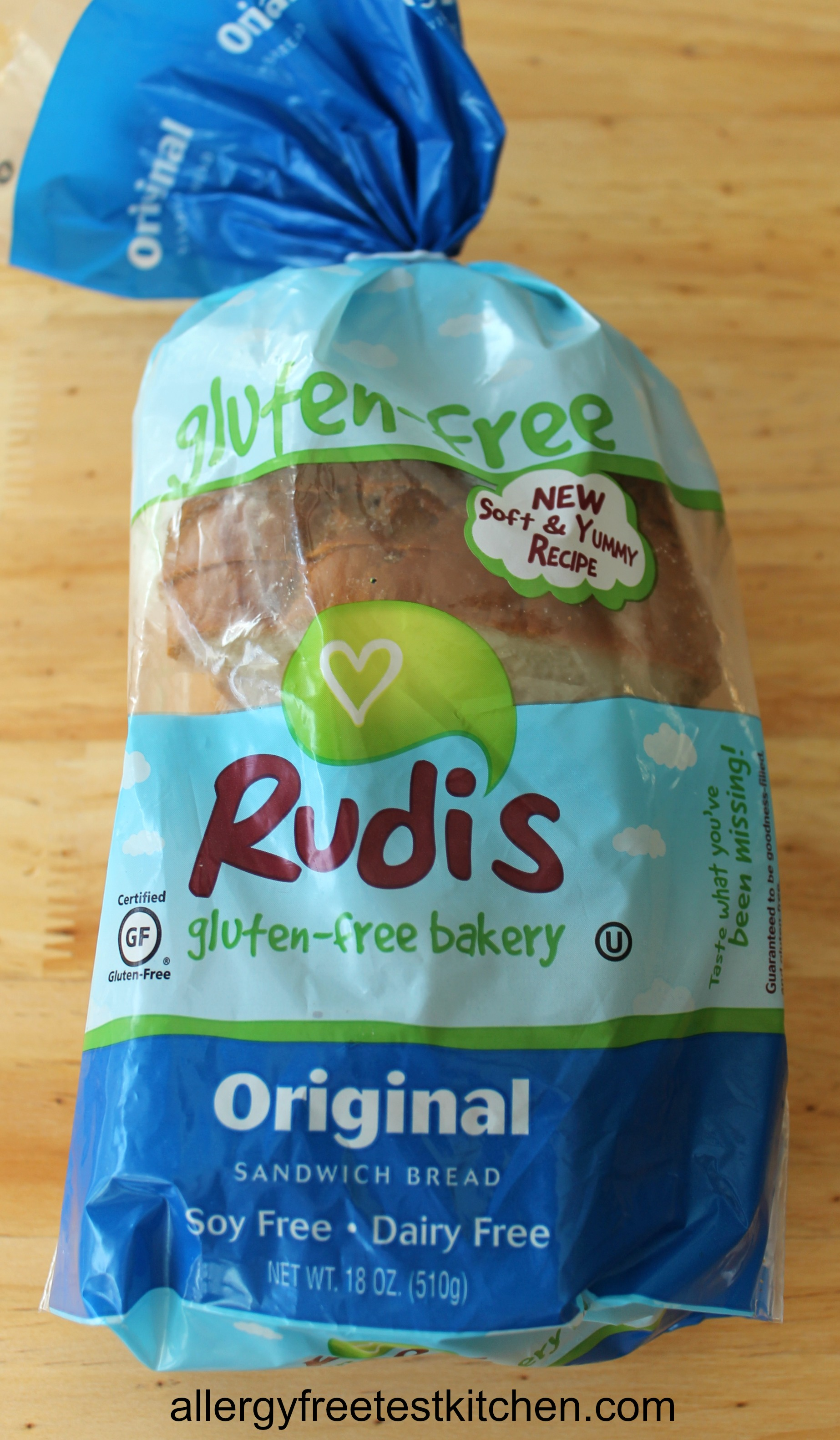 Rudi\'s Gluten Free Soft and Fluffy Bread – Product Review | Allergy ...