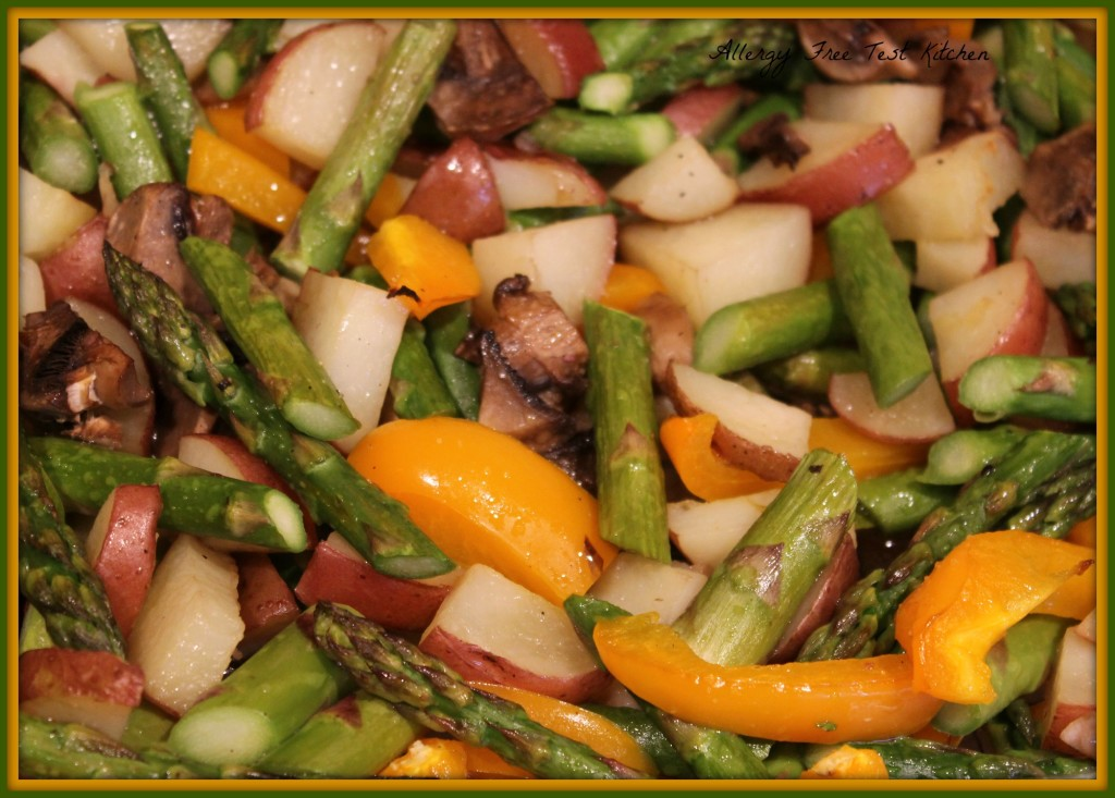 Blog-Roasted Spring Medley