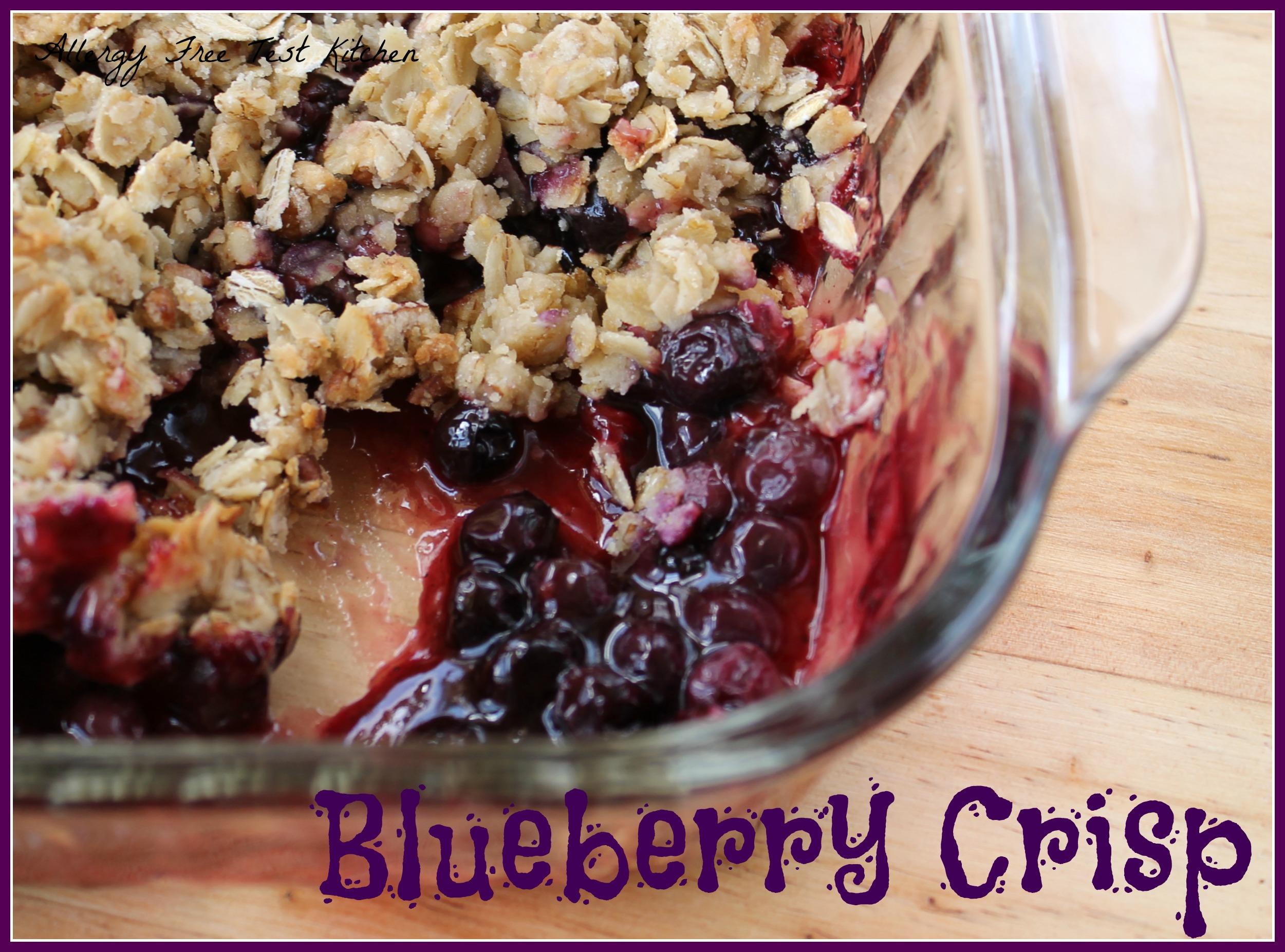 gluten free blueberry peach crisp gluten free recipes gluten free