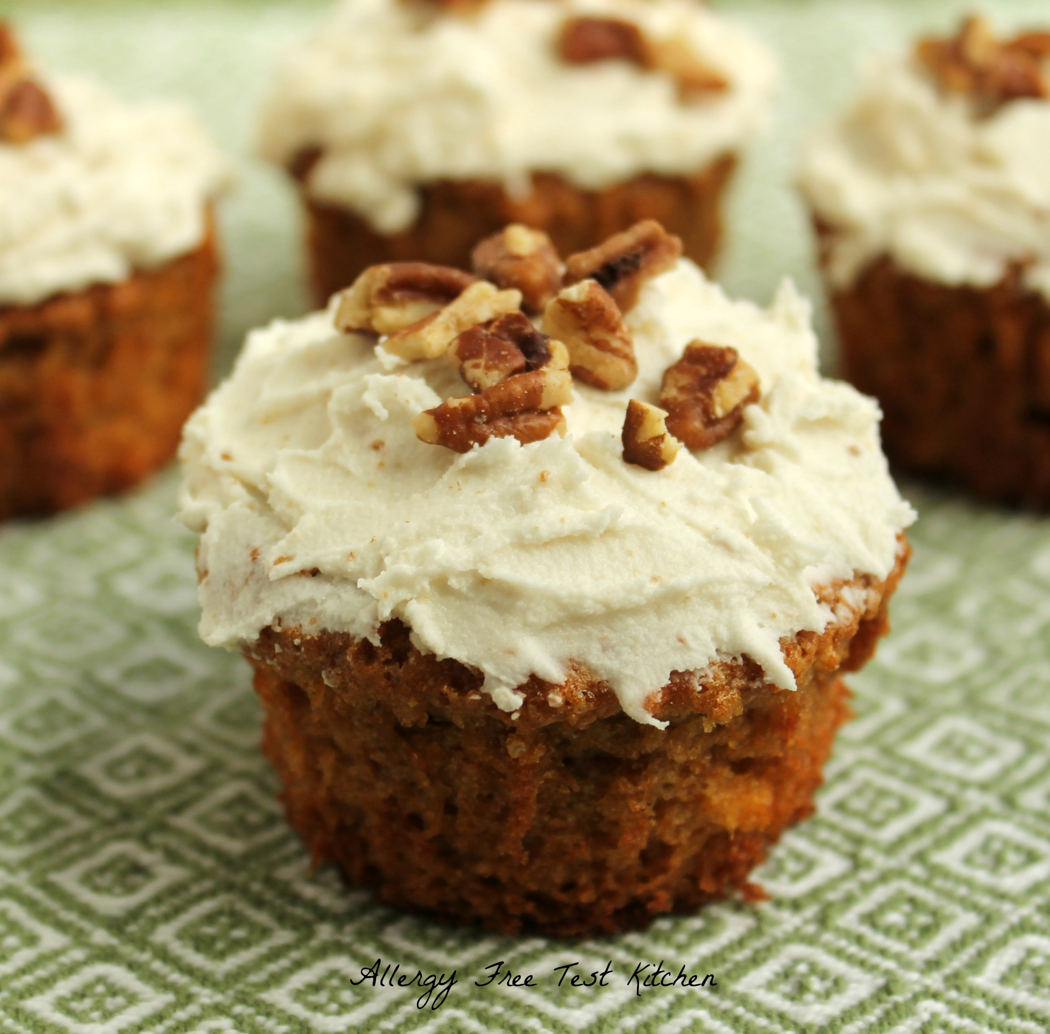 "Sensational Sweet Potato Cupcakes With Maple Infused ""Buttercream ..."