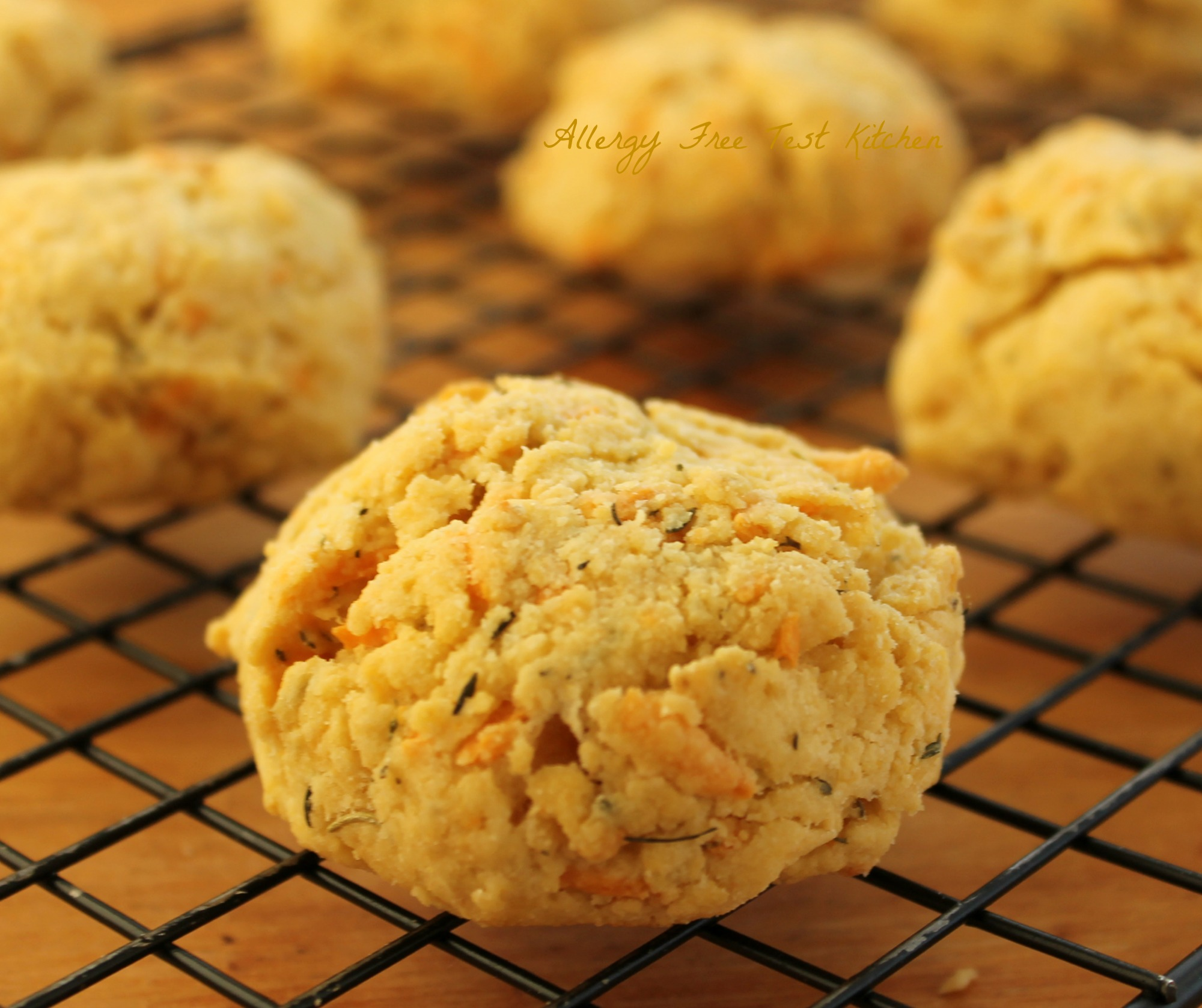 "... Herb and ""Cheese"" Drop Biscuits 