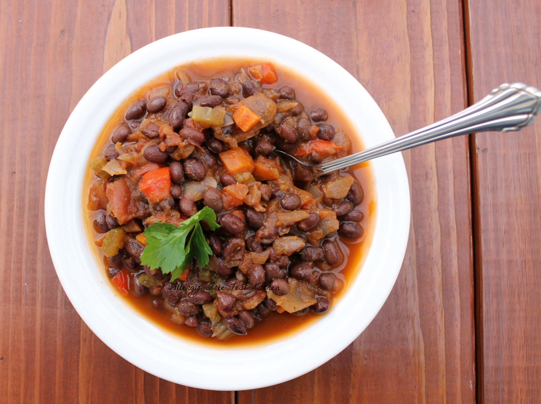 Veggie Black Bean Soup Plus Six More Soup Recipes | Allergy Free Test ...