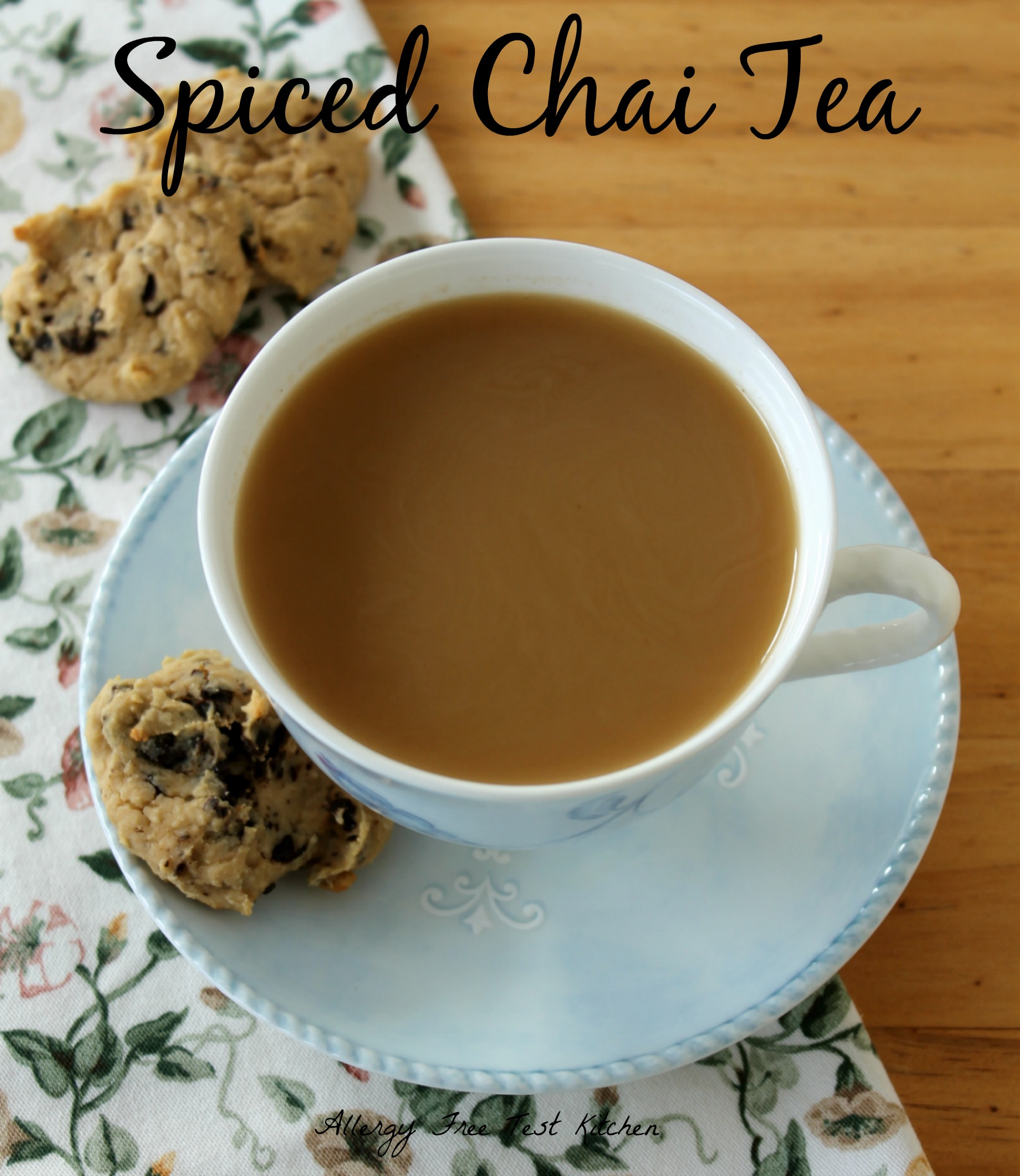 How To Make A Chai Tea Latte Similar to Starbucks | Allergy Free Test ...