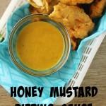 Honey Mustard Dipping Sauce