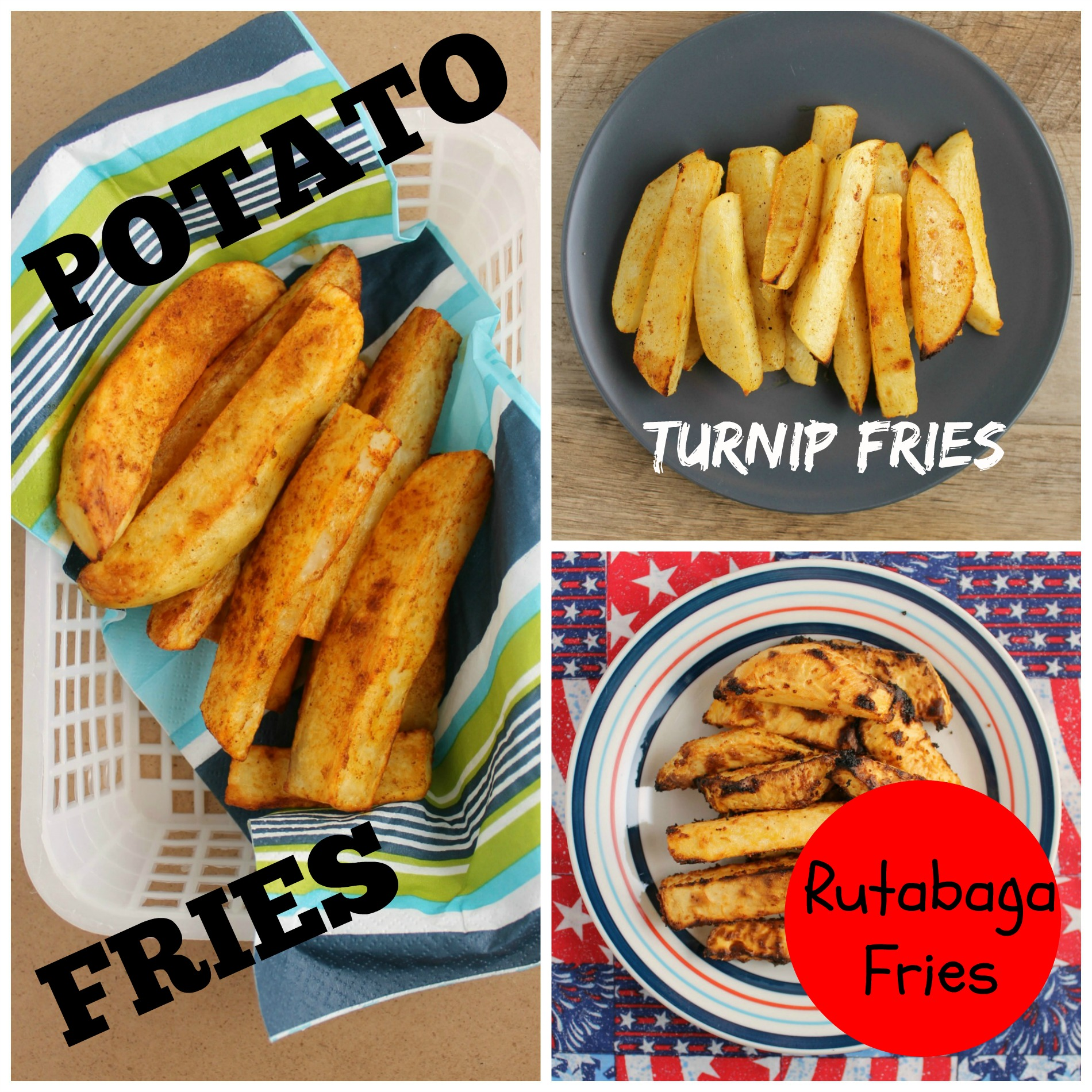 how to cook rutabaga fries