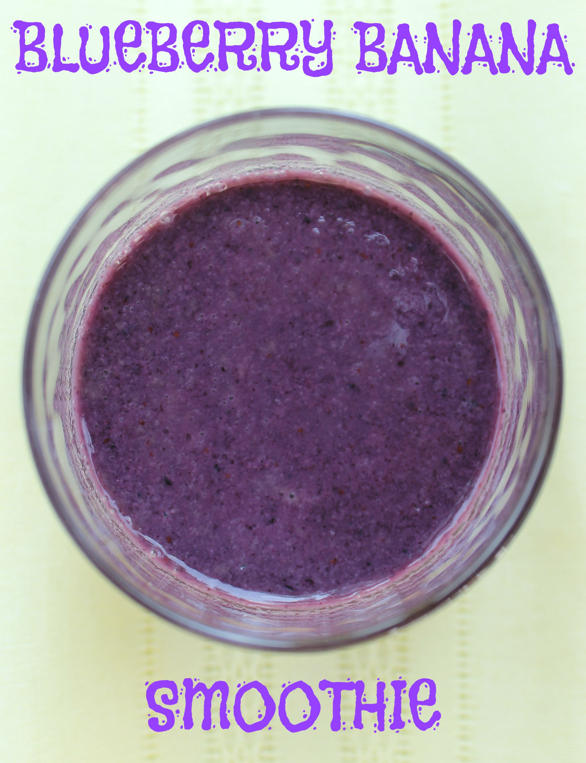 Blueberry Banana Smoothie | Allergy Free Test Kitchen