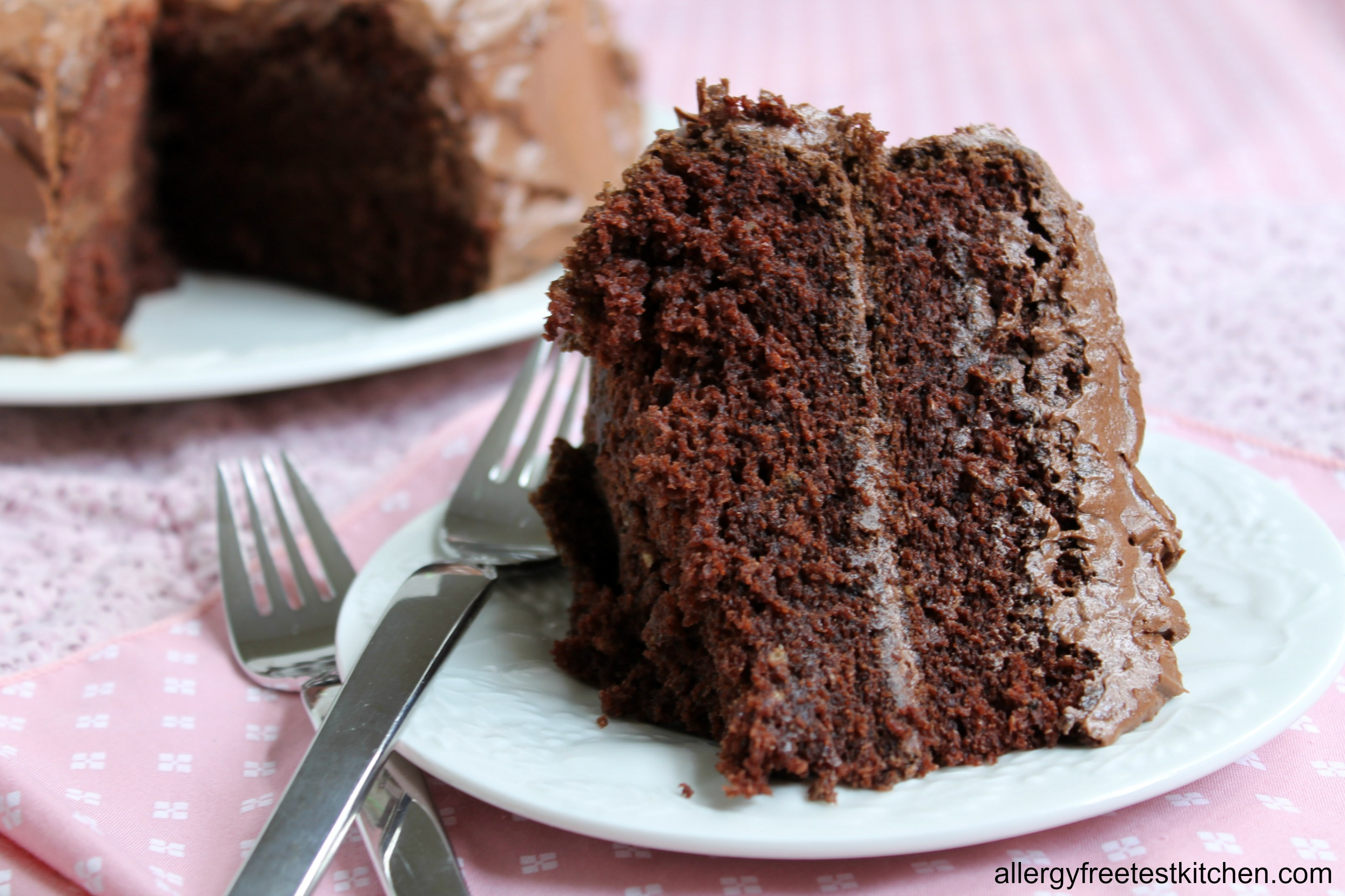 Decadent And Allergy Free Must Have Chocolate Cake